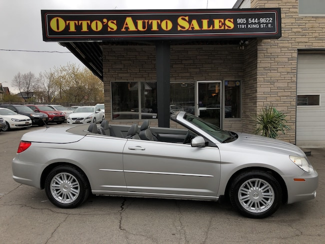 2008 Chrysler Sebring Touring, Leather, Clean Car Proof Convertible