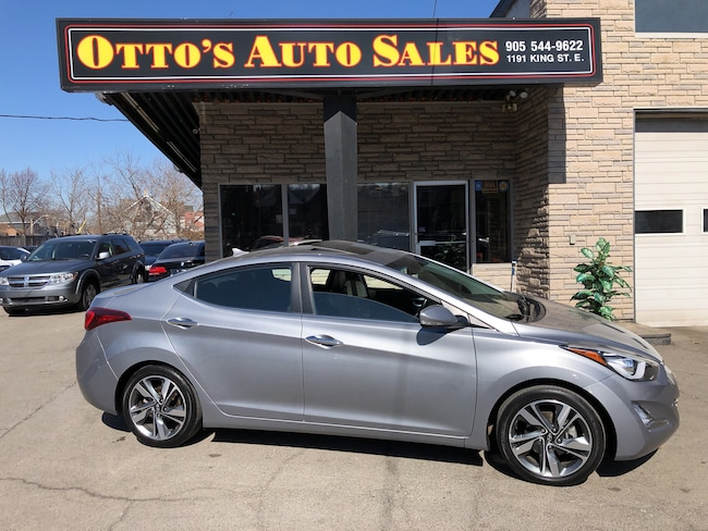 2015 Hyundai Elantra Limited, Sunroof, Navigation, Leather, Low Kms Sedan