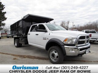 New 2018 Ram 5500 TRADESMAN CHASSIS CREW CAB 4X4 197.4 WB Crew Cab Bowie MD
