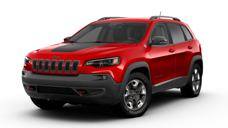 2019 Jeep Cherokee Trailhawk trim model available at Crown CDJR of Dublin.