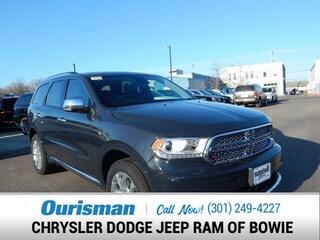 New 2018 Dodge Durango CITADEL AWD Sport Utility Bowie MD