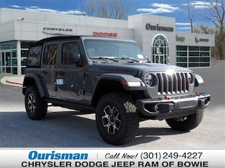 New 2019 Jeep Wrangler UNLIMITED RUBICON 4X4 Sport Utility Bowie MD