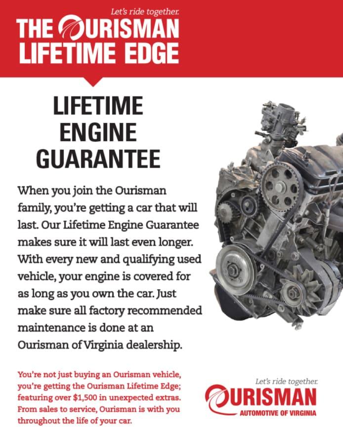 Lifetime Engine Gaurantee