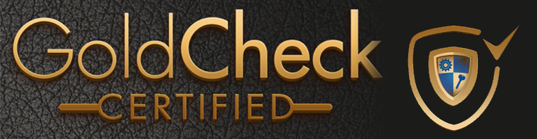Image result for gold check certified