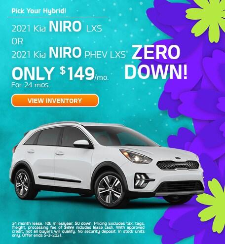 Pick Your Hybrid! April