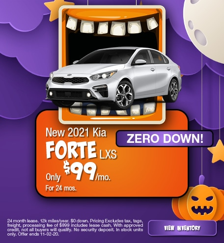 New 2021 Kia Forte LXS October