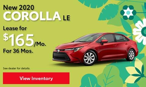 March | 2020 Corolla