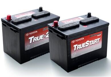 Genuine Toyota TrueStart Batteries on Sale