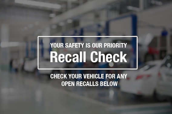 Ourisman Toyota Chantilly >> Check Vehicles For Recall Ourisman Chantilly Toyota