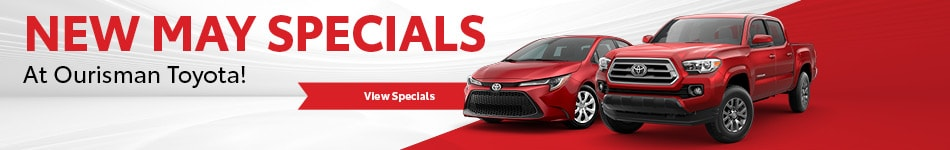 New Vehicle Specials May