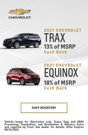 2021 Chevrolet Equinox & 2021 Chevrolet Trax