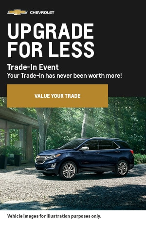 Upgrade For Less Trade-In Event