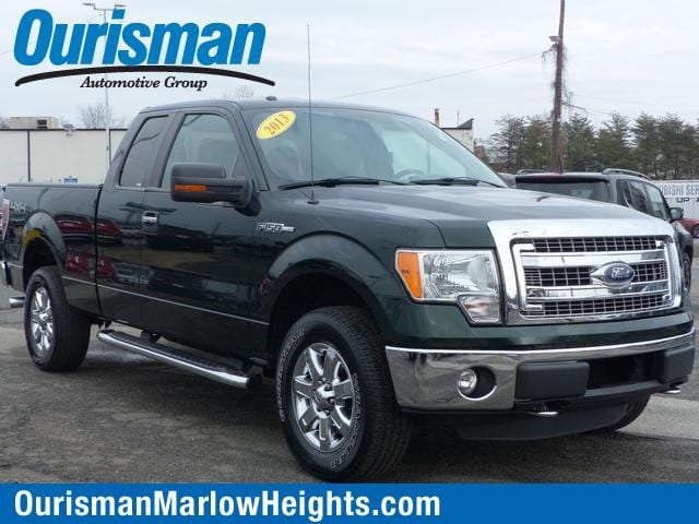 2013 Ford F-150 4WD Supercab Truck SuperCab