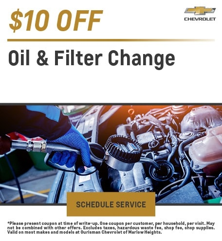 Oil and Filter Change