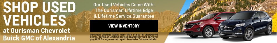 Shop Used Vehicles at Ourisman Chevrolet Buick GMC of Alexandria