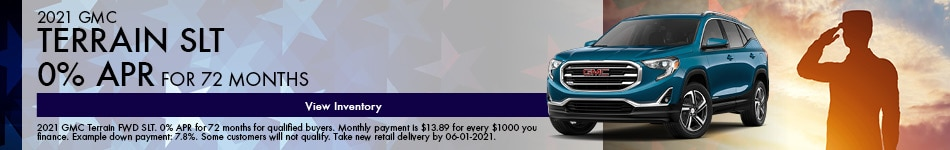 2021 GMC Terrain SLT May