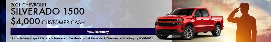 2021 Chevrolet Silverado 1500 May