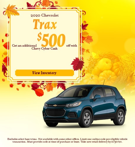 2020 Chevrolet Trax November