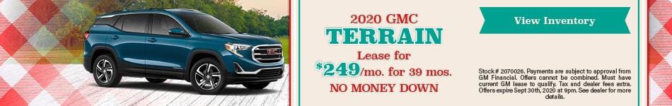 2020 GMC Terrain September