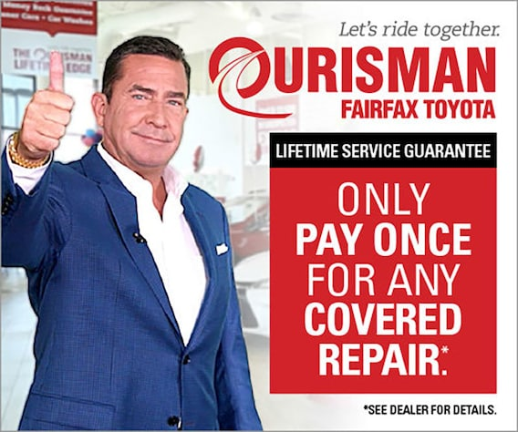 Toyota Car Repair & Service Center in Fairfax VA | Ourisman