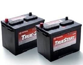 Genuine Toyota TrueStart Batteries on Sale (most models)