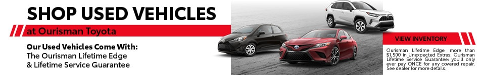 Shop Used Vehicles at Ourisman Toyota