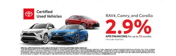 Toyota Certified Pre Owned >> Cpo Certified Used Toyota For Sale In Fairfax Va
