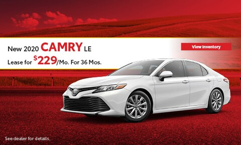 2020 Toyota Camry LE - Lease
