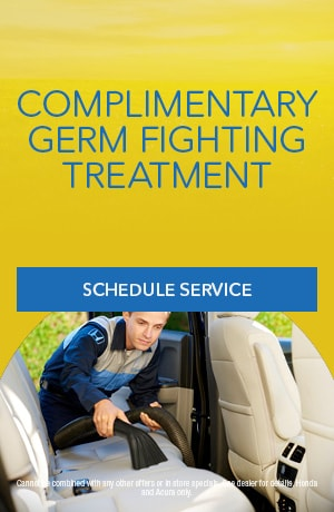 Complimentary Germ Fighter Treatment