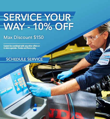 SERVICE YOUR WAY - 10% OFF