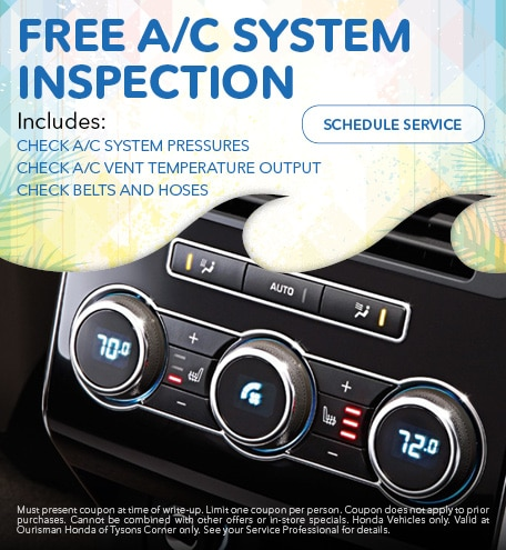 June   Free A/C System Inspection