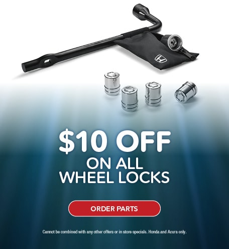 $10 OFF WHEEL LOCKS