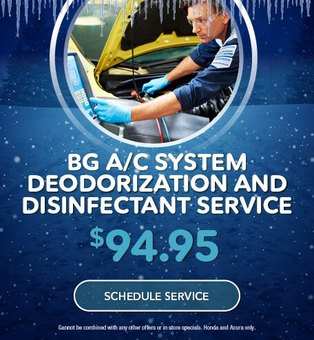 BG A/C System Deodorization and Disinfectant