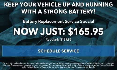Battery Replacement Service Special