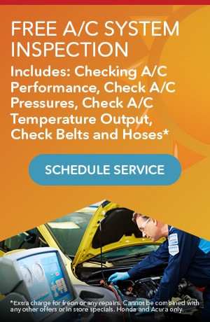 FREE A/C System Inspection