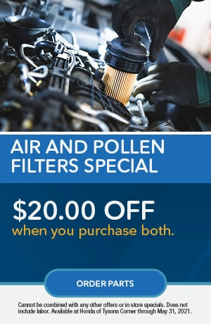 Air and Pollen Filter