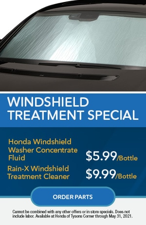 Windshield Treatment Special
