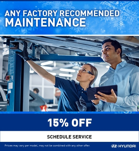 Any Factory Recommended Maintenance