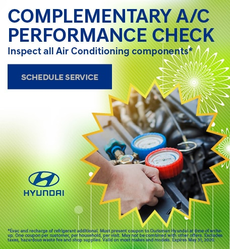 Complimentary A/C Performance Check