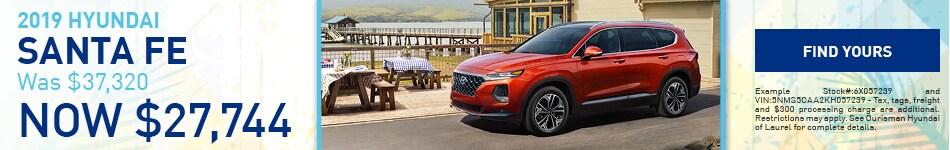 June | 2019 Hyundai Santa Fe