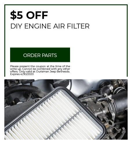 DIY Engine Air Filter