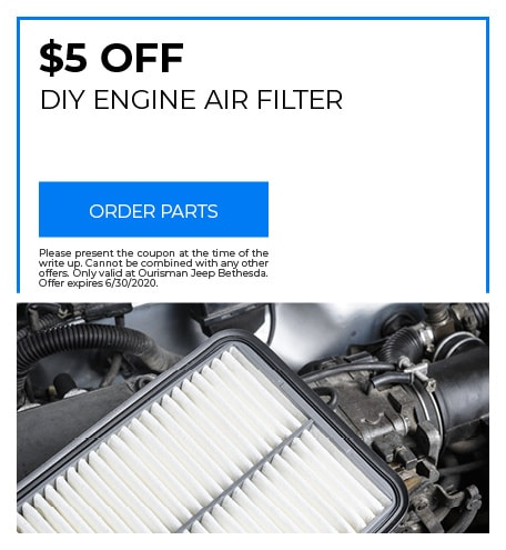 DIY Engine Air Filter - June Special