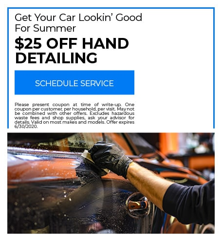 Hand Detailing - June Special