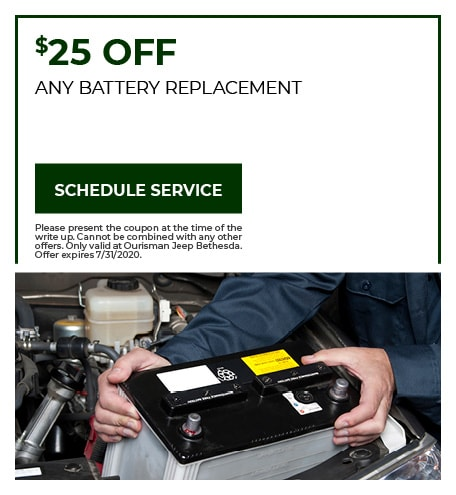 Battery Replacement - July Special
