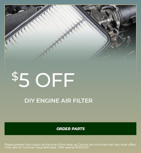 DIY Engine Air Filter - September Special