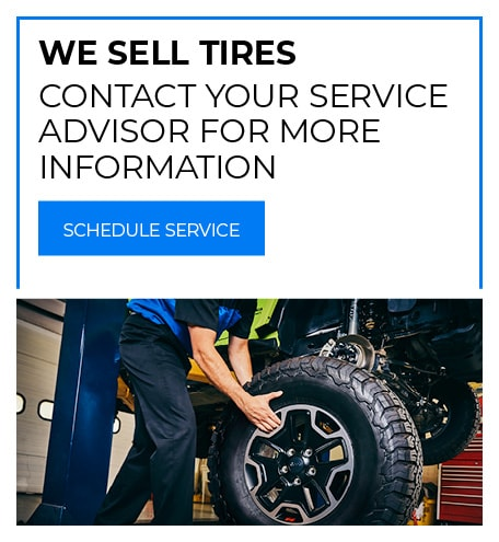 We Sell Tires - June Special