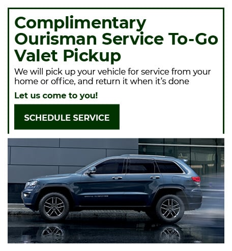 Valet Service - July Special