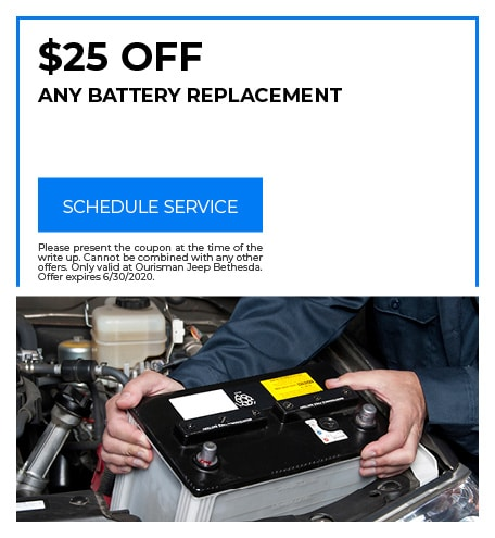 Battery Replacement - June Special