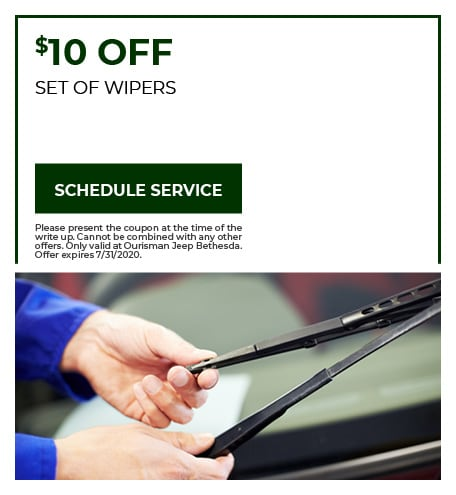 Set of Wipers - July Special