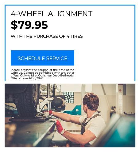 4-Wheel Alignment - June Special